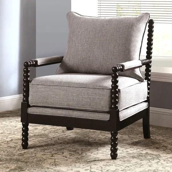 Shop Modern Mid Century Design Grey Living Room Accent ...