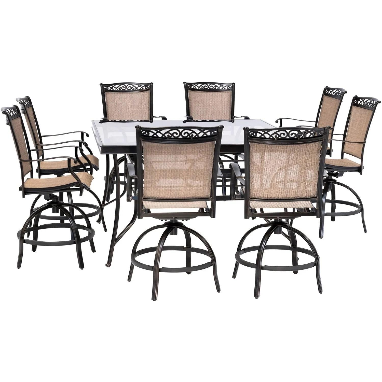 balcony height patio dining table