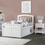 Charlie Wood Twin Size Captain S Bed With Storage Overstock 28178387