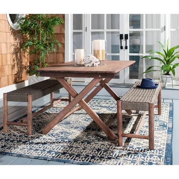Shop Safavieh Outdoor Living Jardin 3Pc Dining Set - On ... on Outdoor Living Shop id=48875
