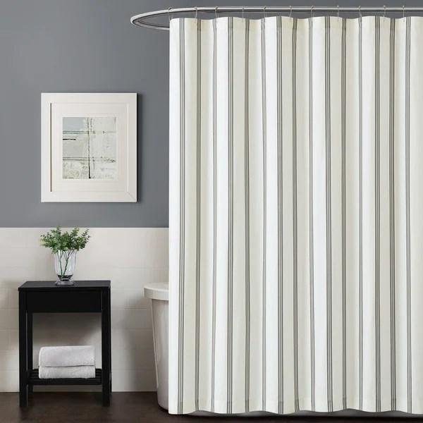 porch den spellman striped shower curtain