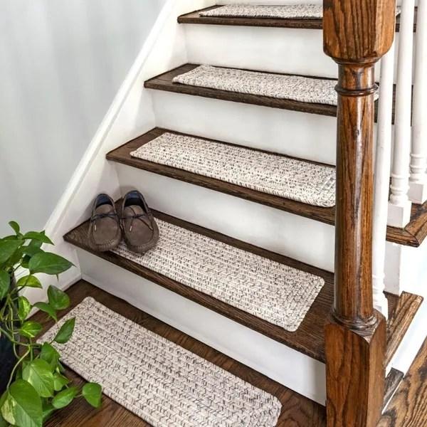 Stair Treads Shop Online At Overstock | Decorative Outdoor Stair Treads | Stone | Interior | Non Slip | Modern Exterior Stair | Fancy