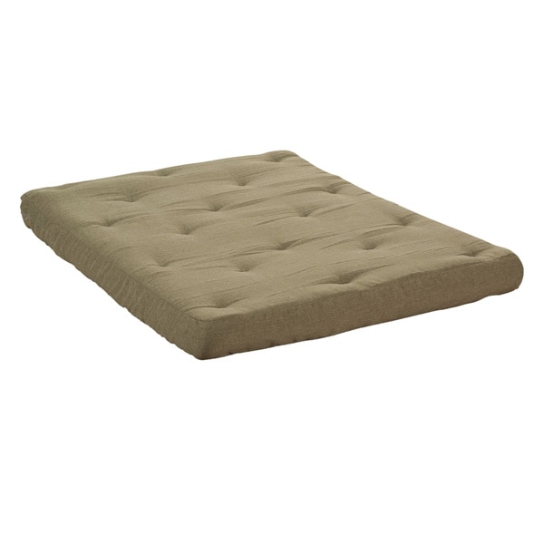 Wolf Corporation S Usf 2 6 Inch Loft Cotton And Certipur Foam Upholstered Futon Mattress Free Shipping Today 11036267
