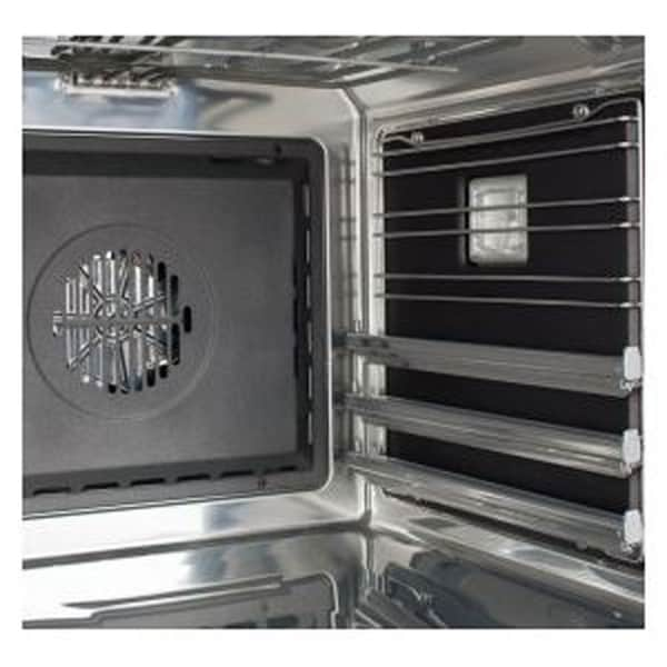 Shop Hallman Self Clean Oven Panels For 48 Dual Fuel Ranges Silver Overstock 28626236