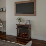Shop Freestanding Electric Fireplace 3 Sided Space Heater By Northwest 28 7 X 11 6 X 27 6 Overstock 28896211