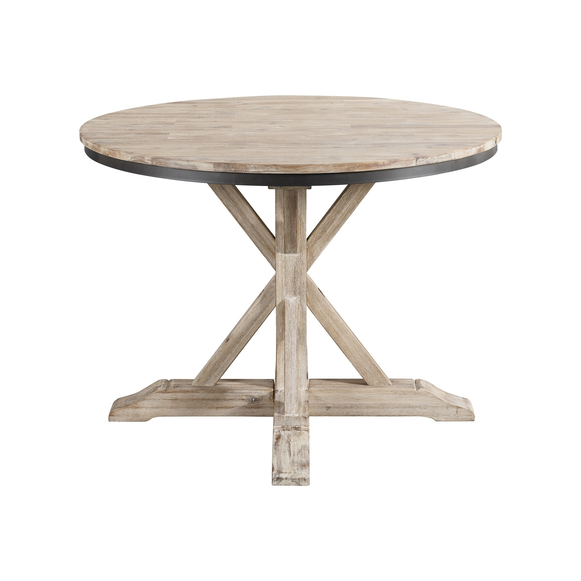 Shop The Gray Barn Whistle Stop Round Standard Height Dining Table Overstock 29146605