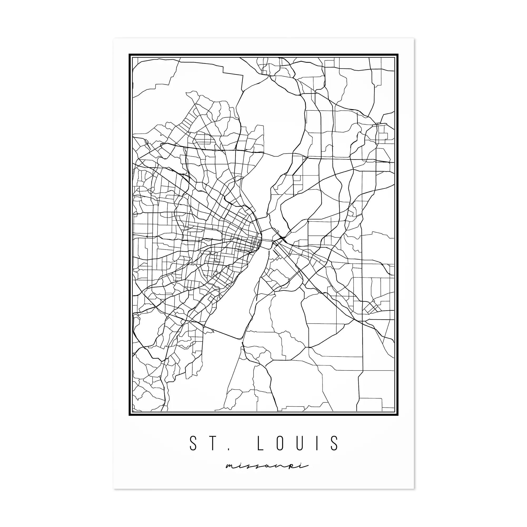 Printable Map Of Missouri Cities