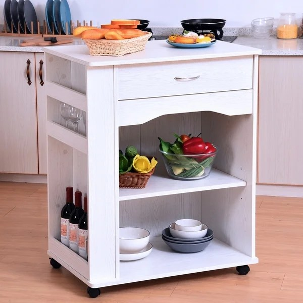with drawer storage stand utility rack