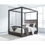 Shop Black Friday Deals On Carbon Loft Barron California King Size Canopy Bed Overstock 29908426