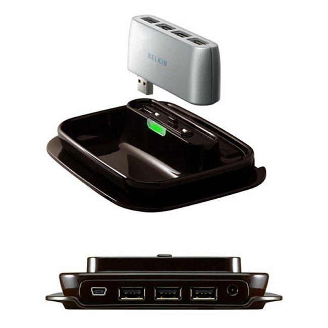 Shop Belkin F5U706 7 Port USB 20 Hub To Go Free