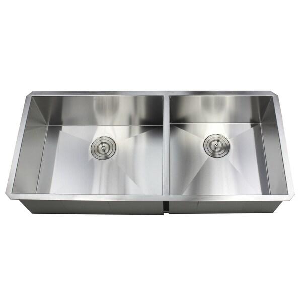zero radius kitchen sink combo