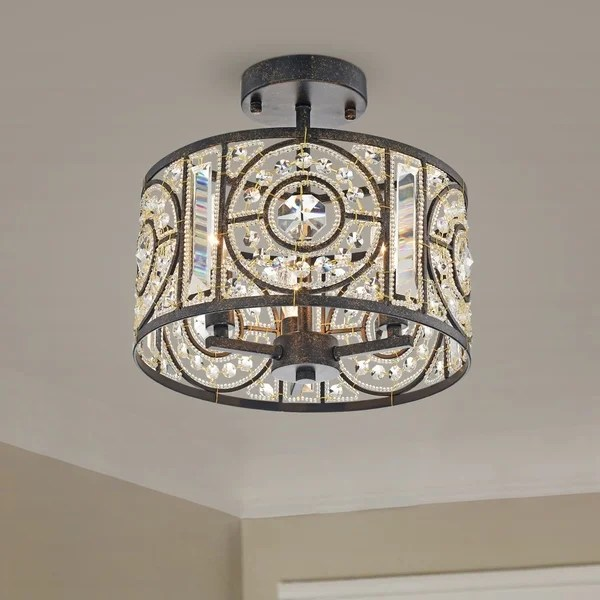 semi flush mount lights find great
