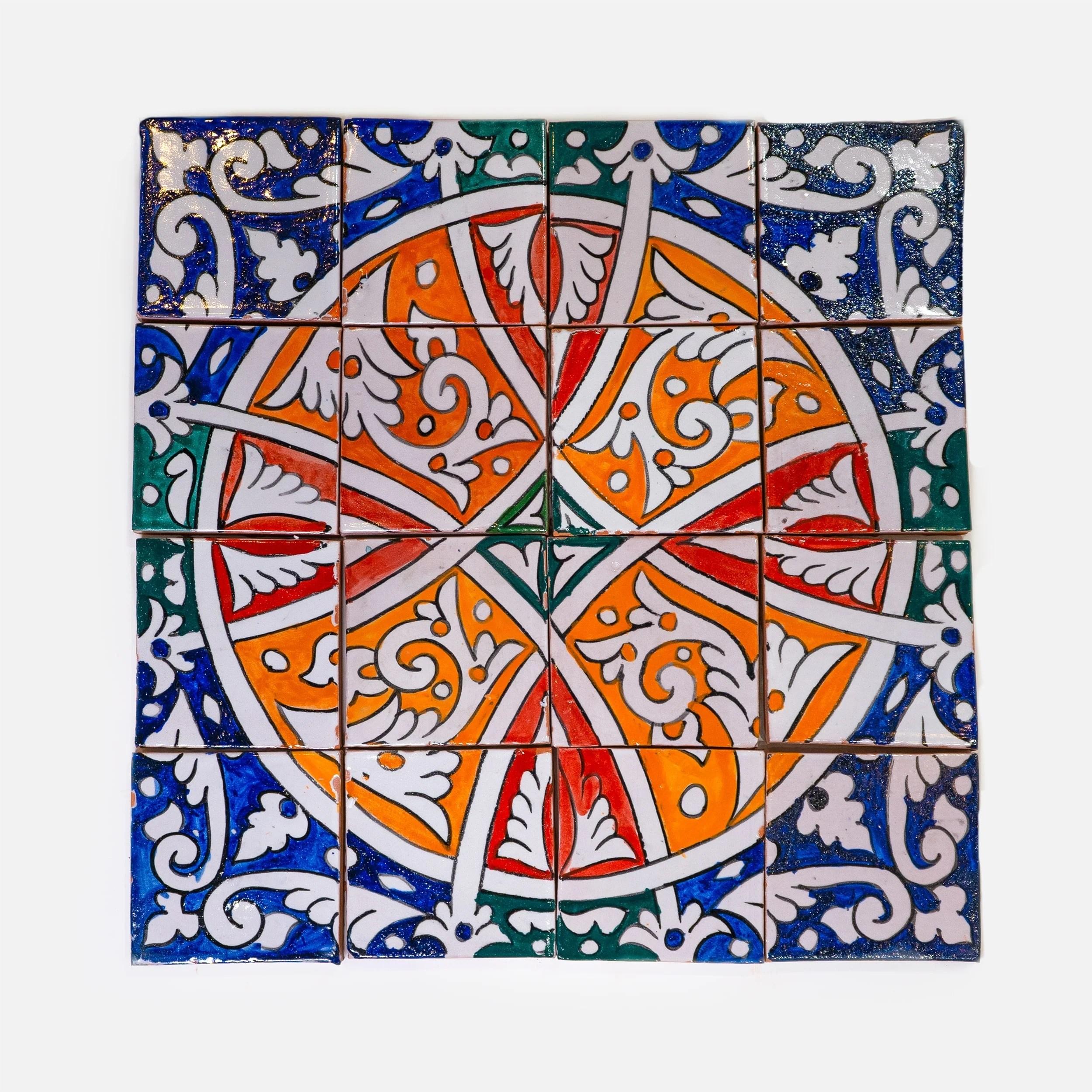 handmade pattern tile morocco