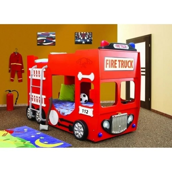 bunk bed fire truck on sale