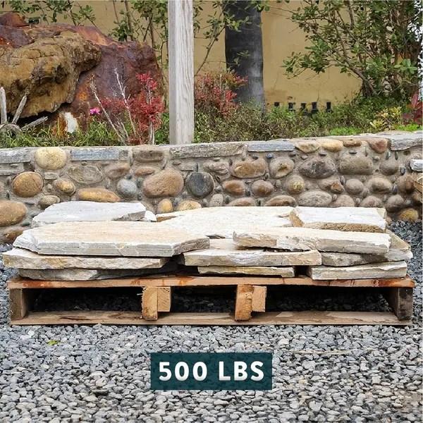 landscape patio natural flagstone