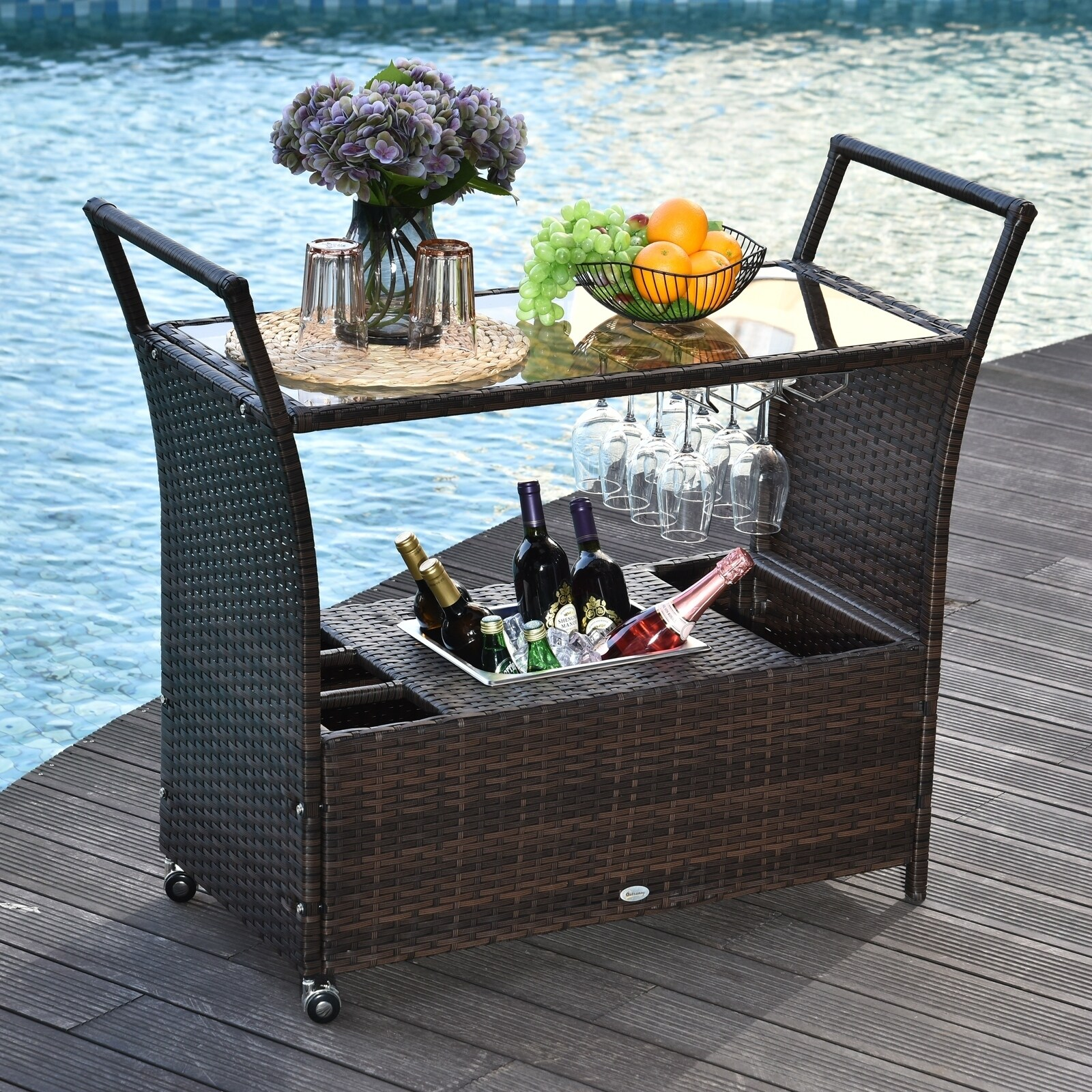 patio bar carts for the home cart on
