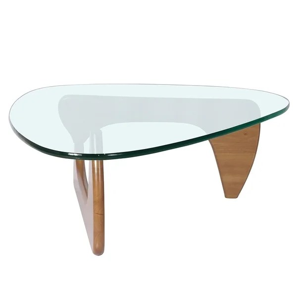 merax coffee table with triangle