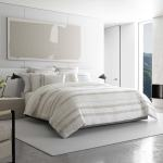 Vera Wang Pucker Grid Duvet Cover Set Overstock 30567577