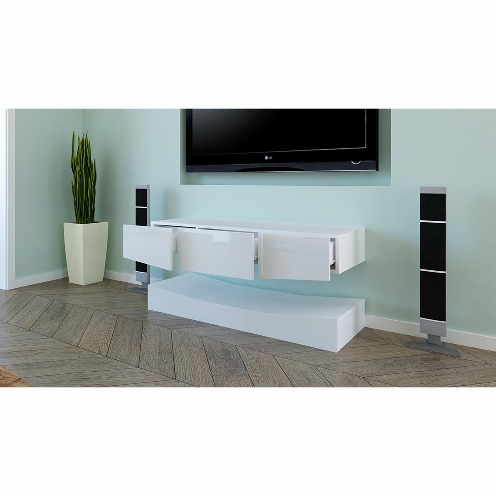 120cm led tv cabinet with upper and