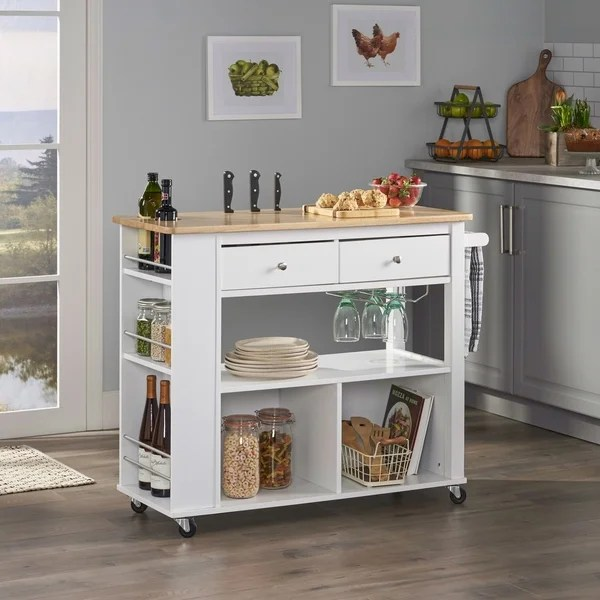 buy kitchen carts online at overstock