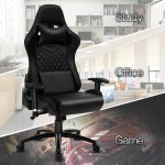 High Back Ergonomic Swivel Office Gaming Chair With Led Rgb Lights On Sale Overstock 30720758