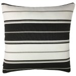 Black And White Striped Outdoor Throw Pillow Overstock 30956564