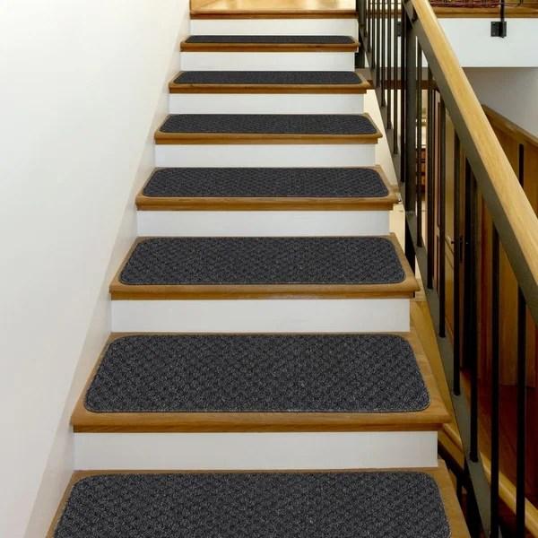 Shop Beverly Rug Indoor Non Slip 8 X26 Carpet Stair Treads   Cheap Carpet Stair Treads   Carpet Runners   Wall Carpet   Wool Carpet   Rugs   Stair Runner