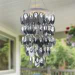 Shop Black Friday Deals On Silver Oval Chandelier Battery Powered 14 0 X 14 0 X 32 5 Overstock 31177820