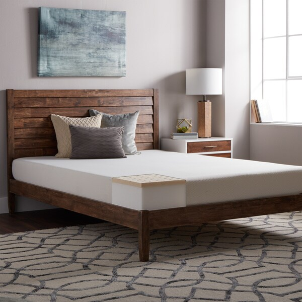 Select Luxury E C O All Natural Latex Medium Firm 8 Inch Full Size Hybrid Mattress