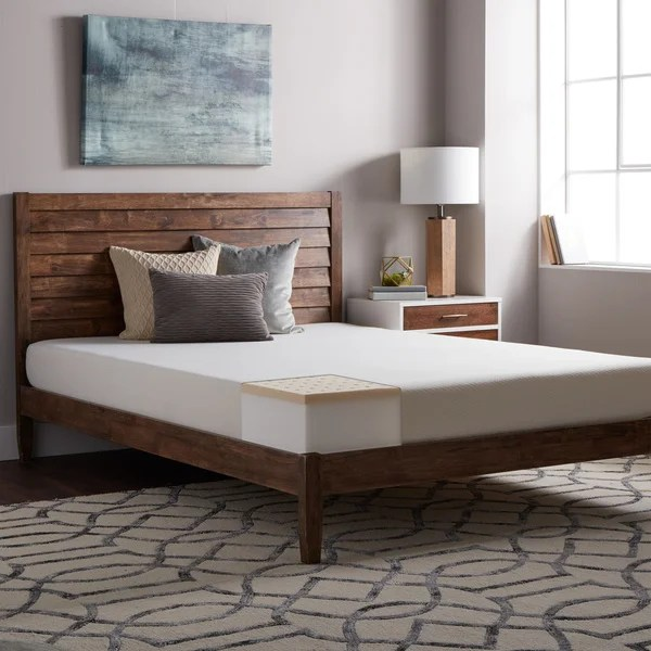 Select Luxury E C O All Natural Latex Medium Firm 8 Inch Queen Size Hybrid Mattress