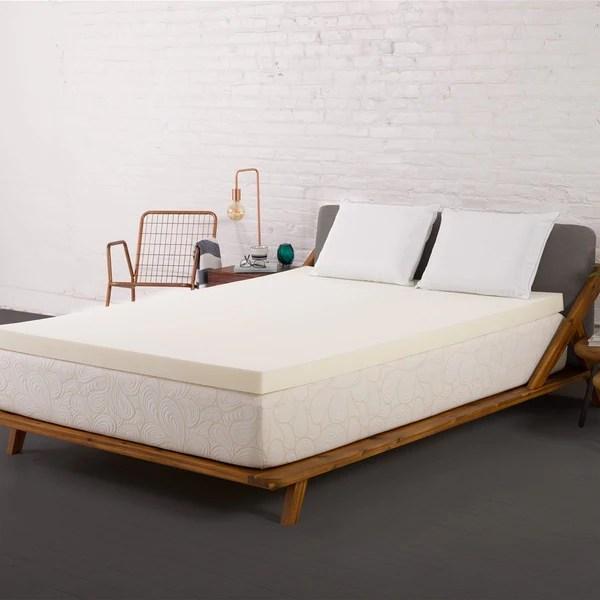 Authentic Comfort 1 5 Inch Memory Foam Mattress Topper