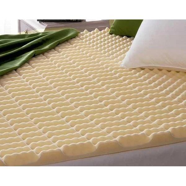 Beautyrest Cut Zoned Convoluted Polyurethane Foam Mattress Topper