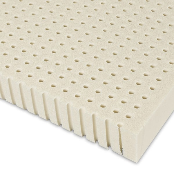 Select Luxury E C O Latex 2 Inch Flippable Mattress Topper With Cover Free Shipping Today 11994608
