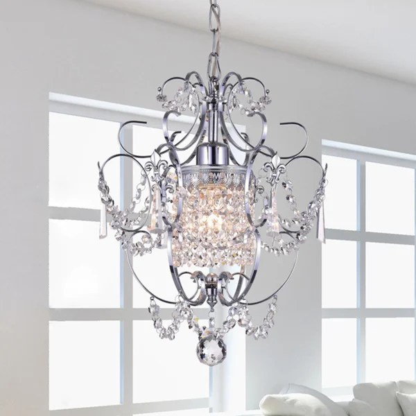 Chrome Crystal Chandelier Free Shipping Today 12114025
