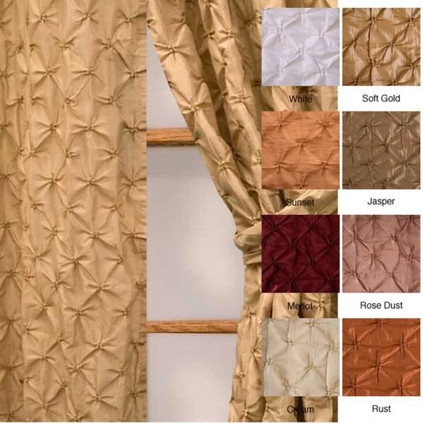 softline zanzibar rod pocket 108 inch curtain panel 48 x 108