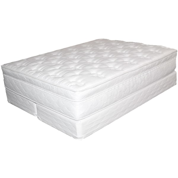 Victoria Visco Plus Softside No Motion Queen Size Water Mattress System