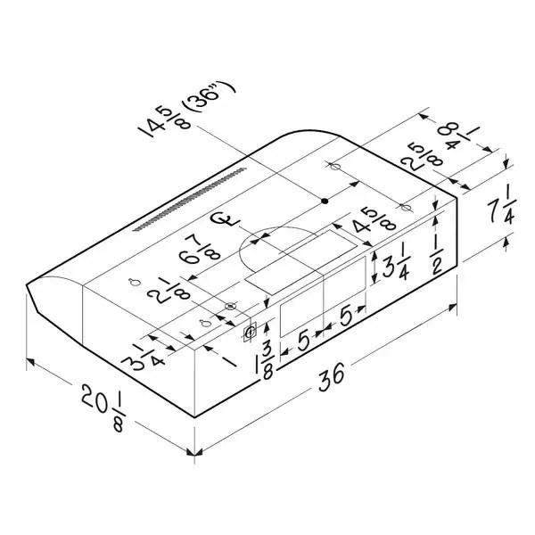 Broan Evolution 2 Series 36 inch Stainless Steel Under cabinet Range Hood 6ae4ab1f 0325 41c0 b4b7 efcde81c3358_600?resize\=600%2C600\&ssl\=1 broan range hood 30 inch wiring diagram wiring diagrams  at gsmx.co