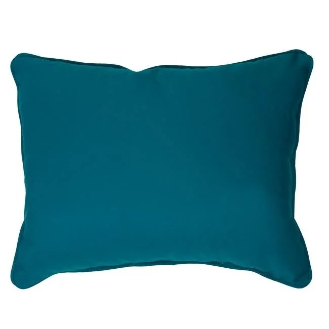 canvas teal corded indoor outdoor pillows in sunbrella fabric set of 2
