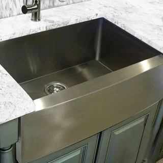 Stainless Steel 30 Inch Farmhouse Apron Sink Overstock