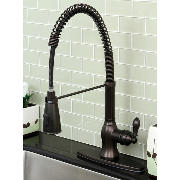 American Classic Modern Oil Rubbed Bronze Spiral Pull Down