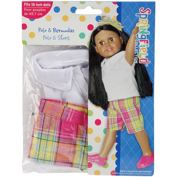 Shop Springfield Collection Shirt And Shorts Doll Clothes