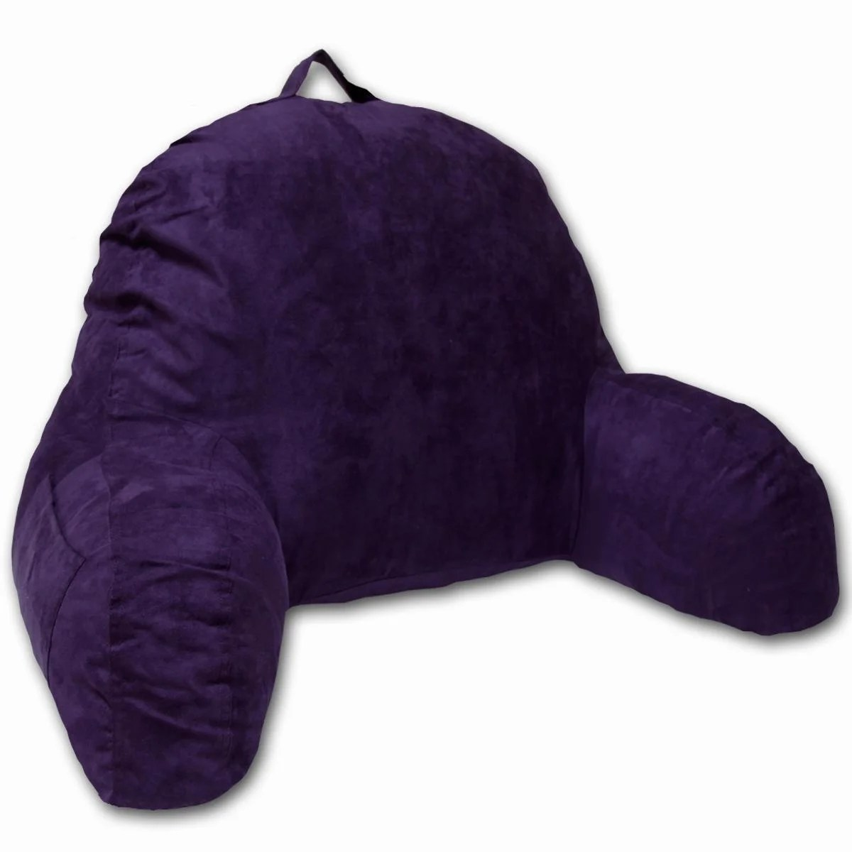 Shop Purple Microsuede Bed Rest Free Shipping On Orders