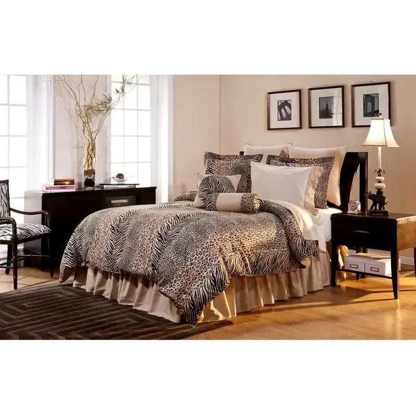 Urban Safari California King Size 8 Piece Comforter Set