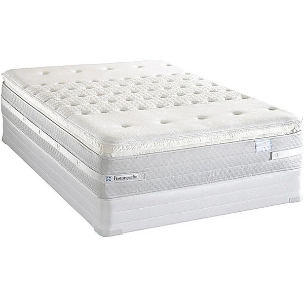 Best Deal On King Size Mattress Sealy Posturepedic Forestwood Plush Euro Pillowtop