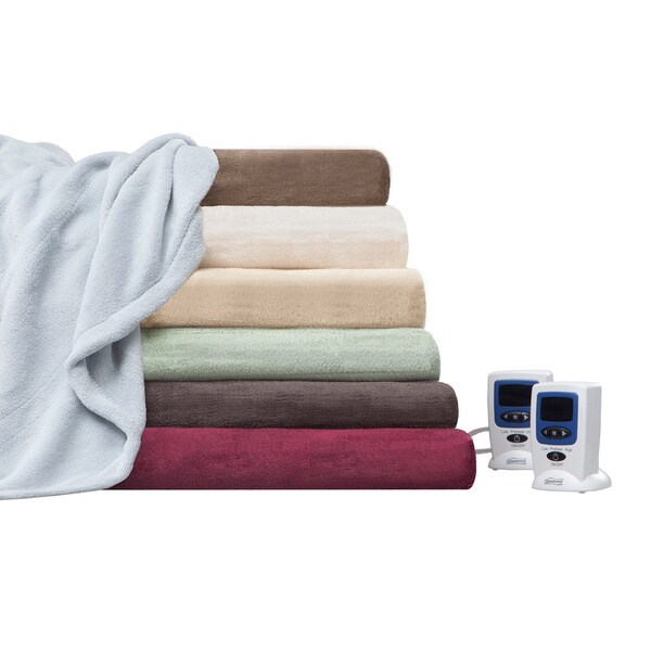 New Beautyrest Electric Heated Blanket Large Bed Couch