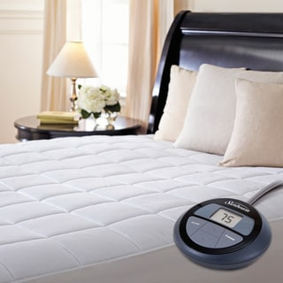 Sunbeam Premium Heated Electric King Size Mattress Pad Option