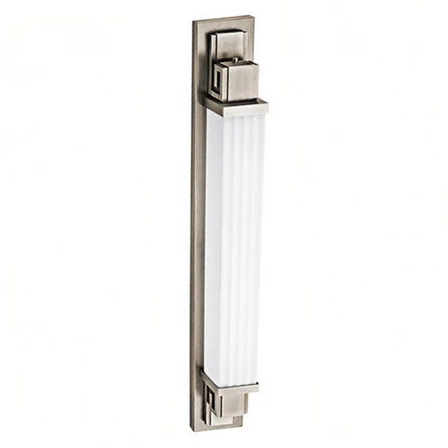Greek Key Outdoor 1-light Pewter Wall Sconce - Overstock ... on Discount Wall Sconces id=93325