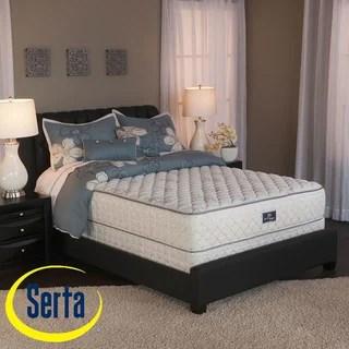 Serta Perfect Sleeper Liberation Cushion Firm King Size Mattress And Box Spring Set