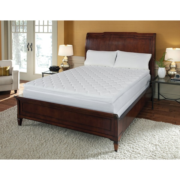Reversible Pillow Top 12 Inch King Size Memory Foam Mattress
