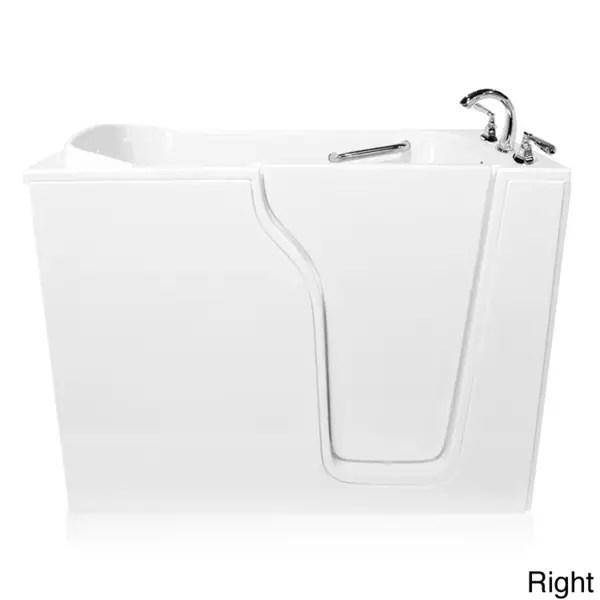 Shop 3555 Soaker Series Walk In Bathtub Free Shipping